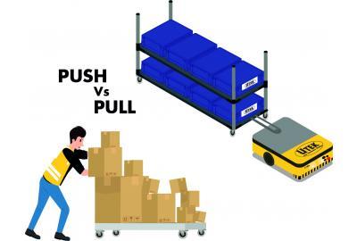 Pull e push, differenze e vantaggi