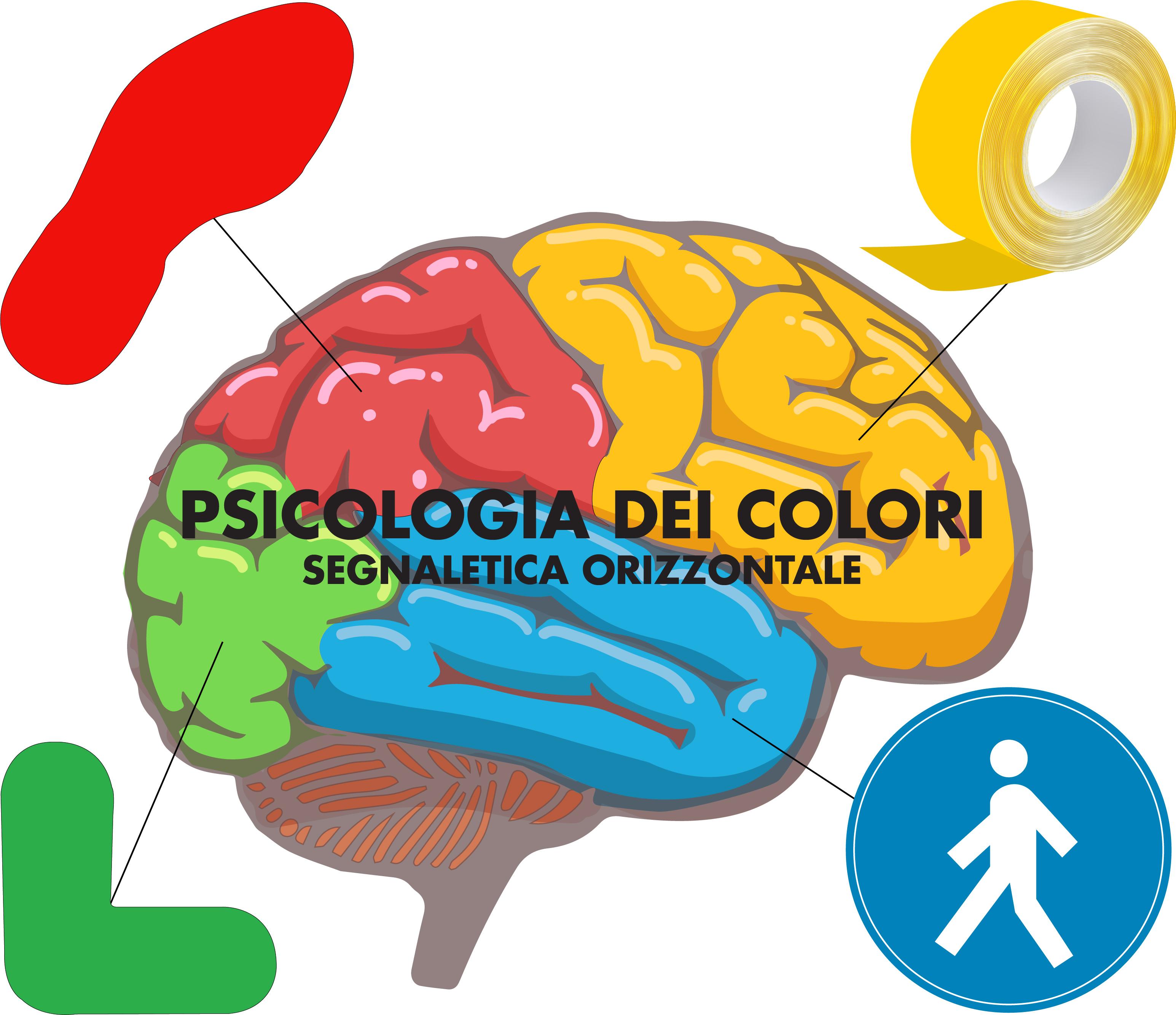 Psicologia dei colori: Segnaletica Orizzontale
