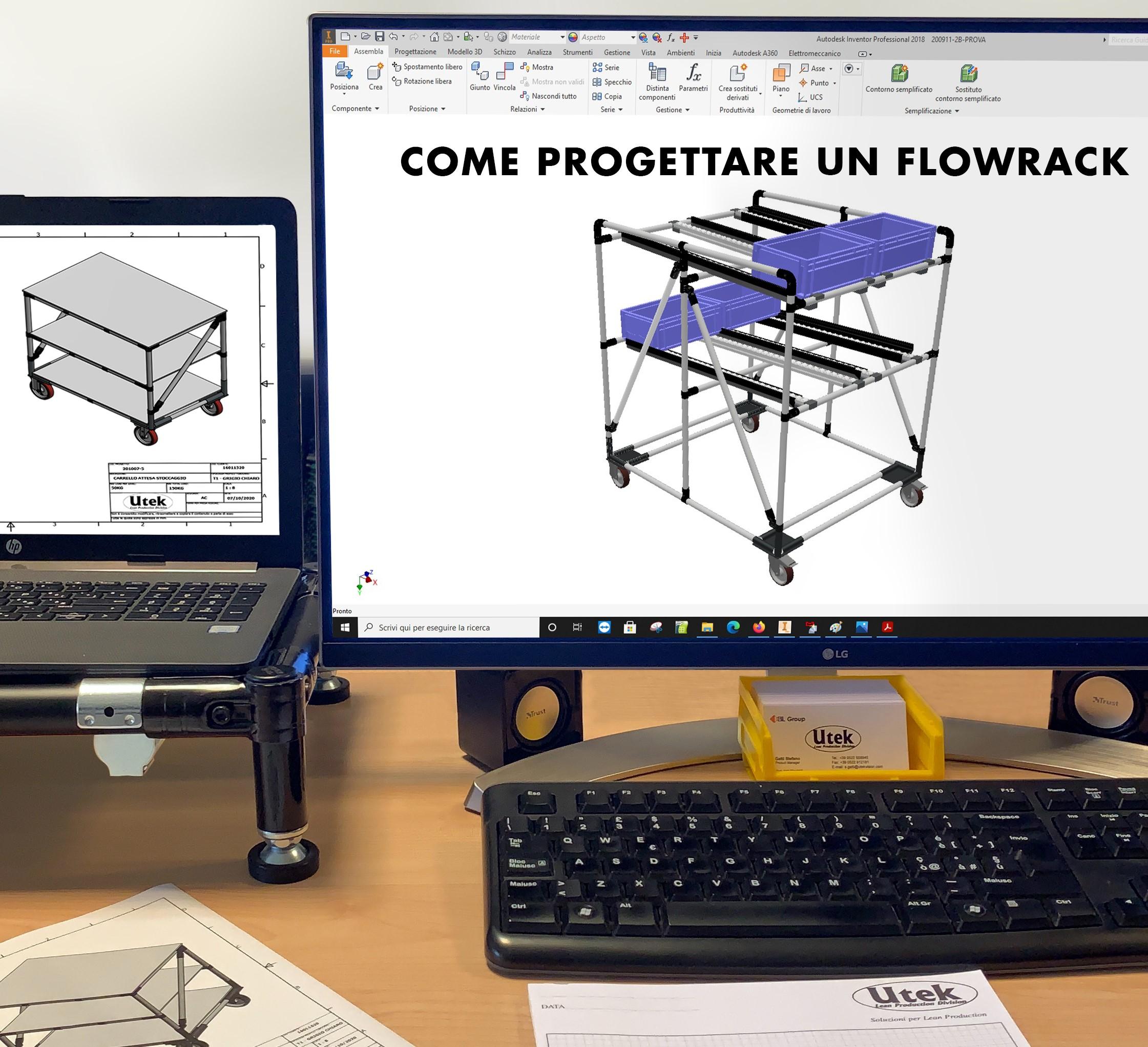 Come progettare un Flowrack?