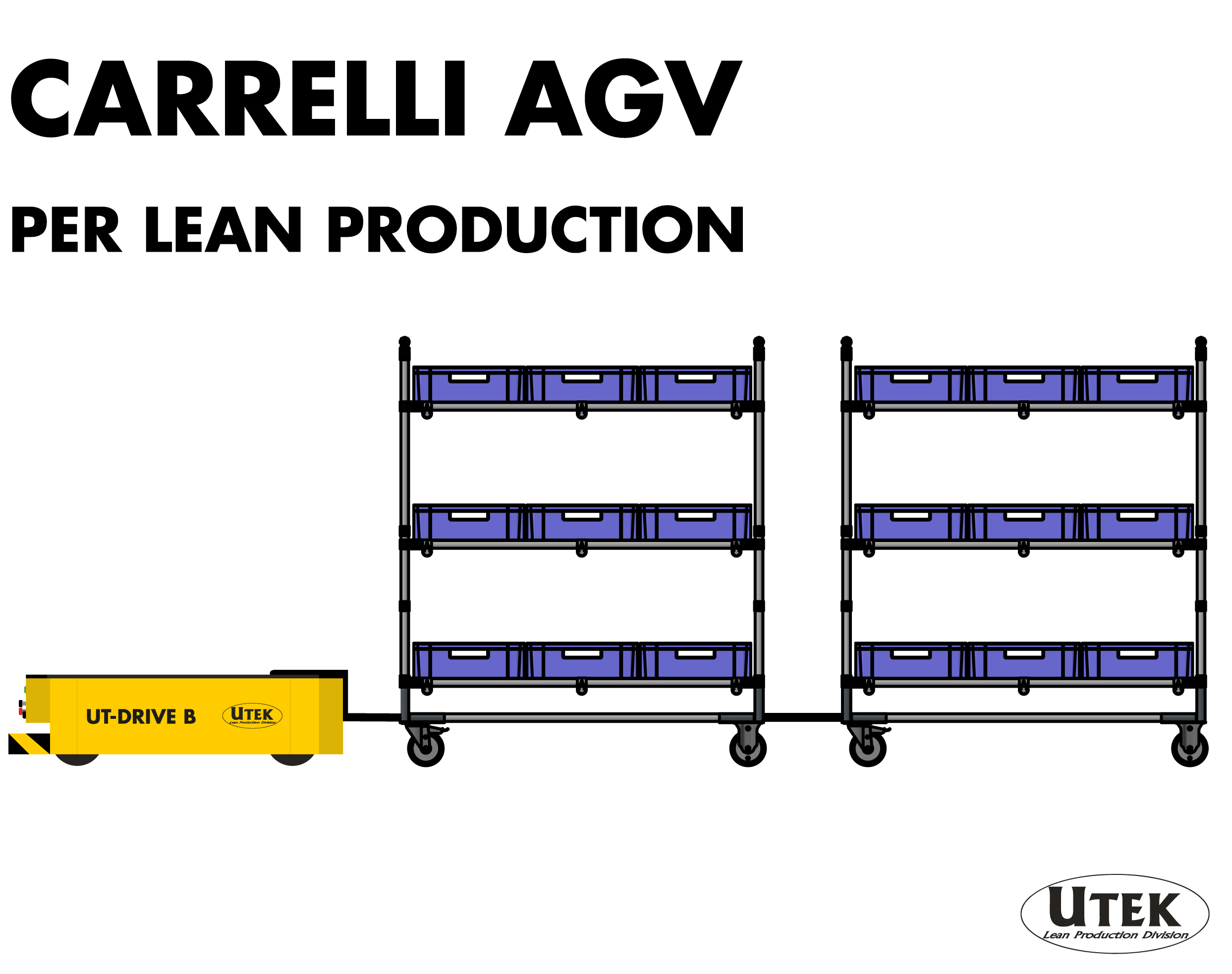 Carrelli AGV: Come usarli in ottica lean production