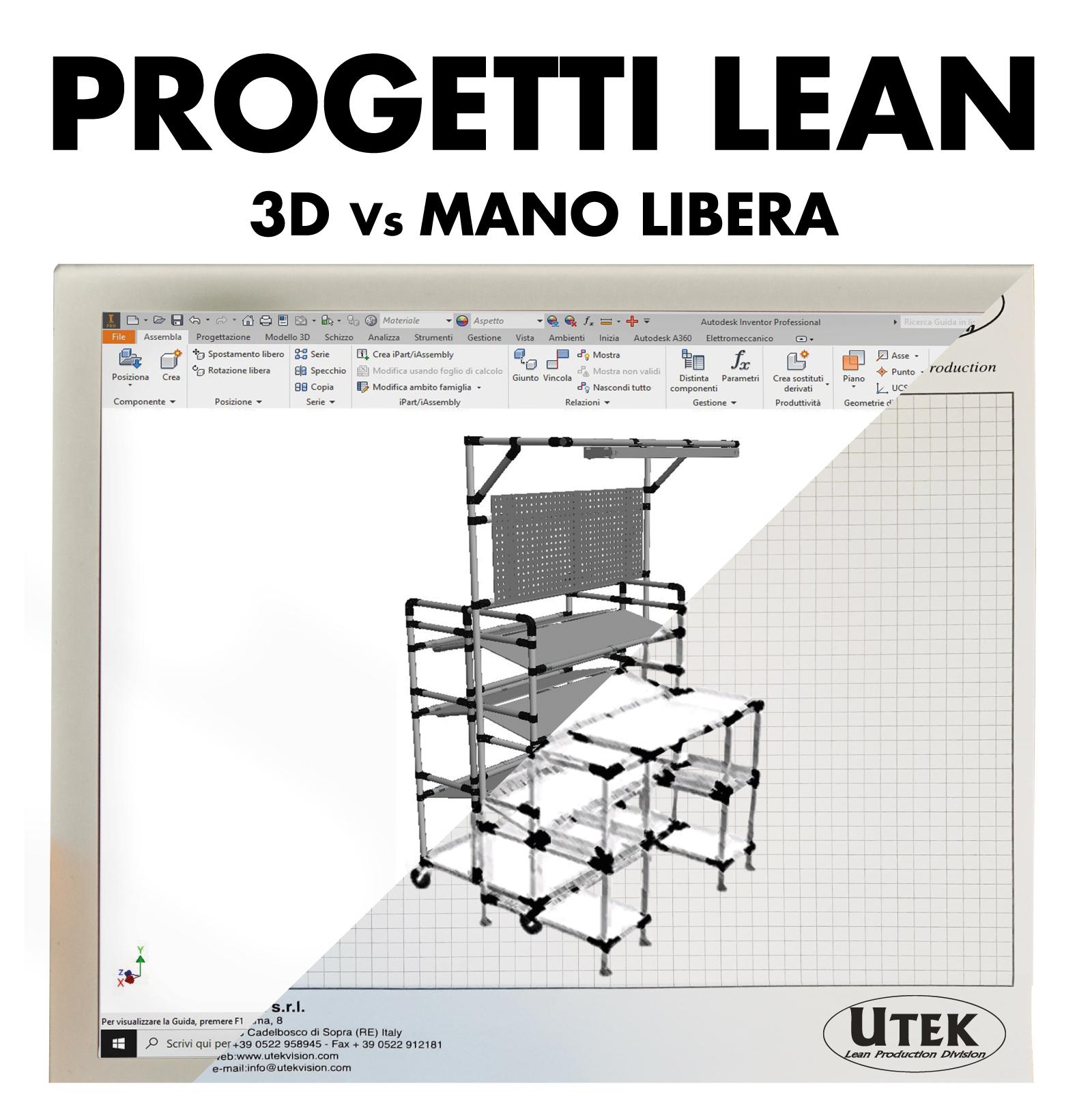 Progetti Lean 3D o bozza a mano libera?