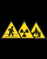 Cartello di pericolo