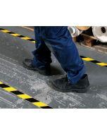 Nastro adesivo per pavimento, bicolore