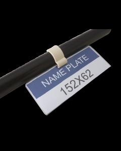 Clip porta-etichette