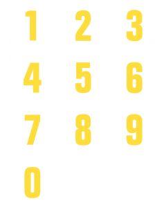 Numeri adesivi