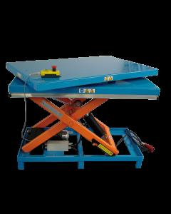Piattaforma di sollevamento girevole