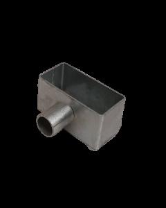 Porta utensili zincato 100x50x50 mm