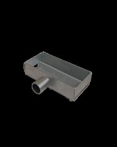 Porta utensili zincato 150x80x40 mm