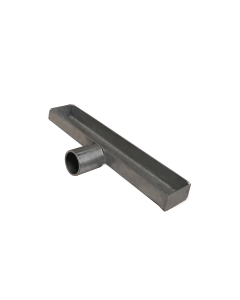 Porta utensili zincato 240x41x20 mm