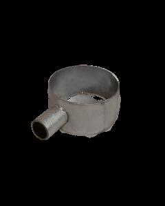 Porta utensili zincato Ø100