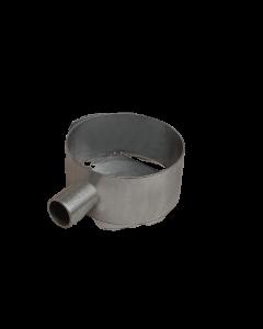 Porta utensili zincato Ø120