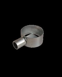 Porta utensili zincato Ø80