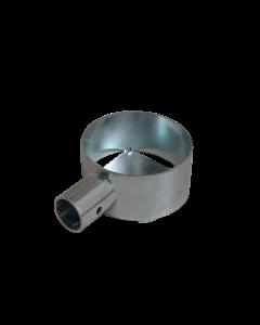 Porta utensili zincato Ø90