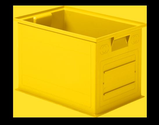 Contenitore Kanaban giallo