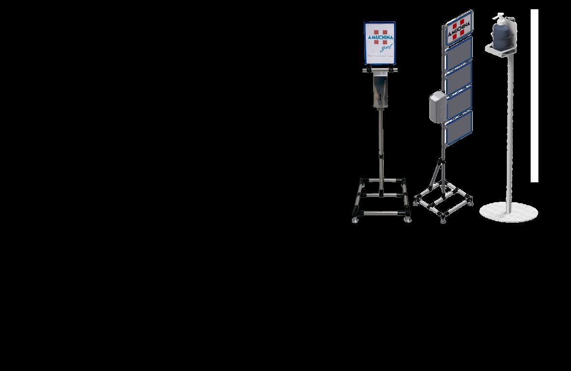 stazioni di sanificazione